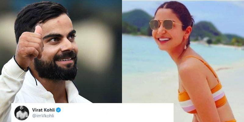 Anushka Sharma Shared A Beautiful Picture In Bikini, Virat Kohli Has The Best Reaction