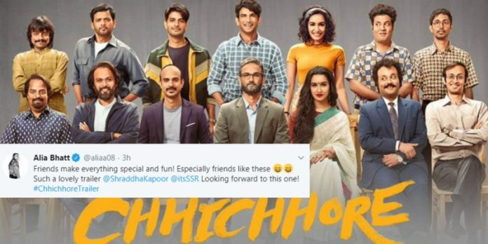 Chhichhore's Trailer Is Here And Twitterati Have Flooded The Twitter With Their Amazing Response