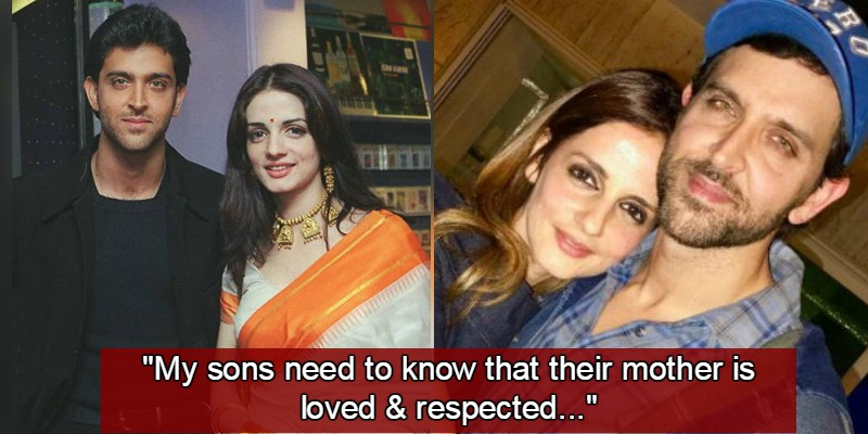 Hrithik Roshan Opens Up About His Friendly Equation With Ex-Wife Sussanne Khan
