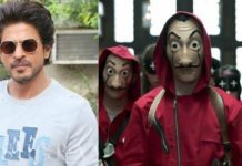 Shah Rukh Khan To Adapt Famous Spanish Web-Series 'Money Heist' Into A Hindi Feature Movie, Read Details