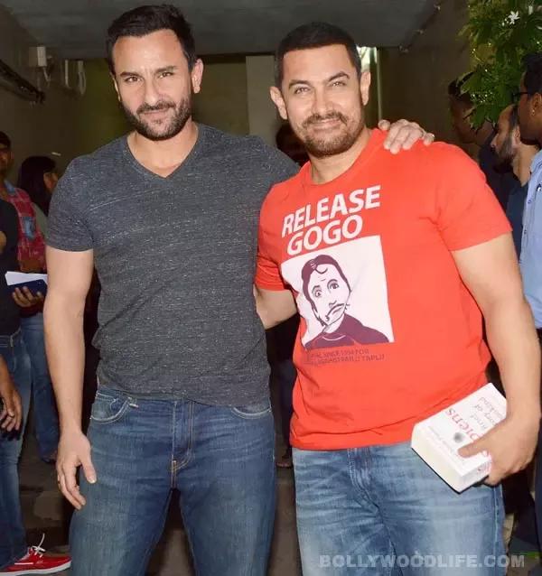 Aamir Khan and Saif Ali Khan