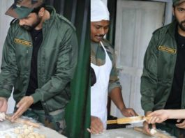 Vicky Kaushal Rolls Out His First-Ever Roti For Army Jawans, Pictures Are Going Viral