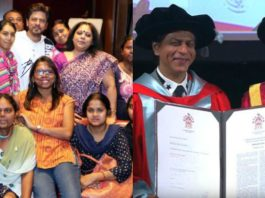 SRK Honored With A Doctorate Degree At La Trobe University For The Work He Has Done For Underprivileged Children & Women