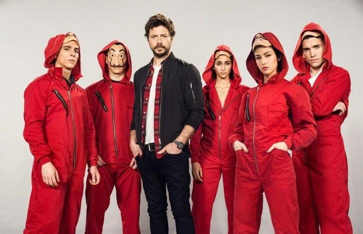 Money Heist season 4 in Top Rated TV Series Of 2020