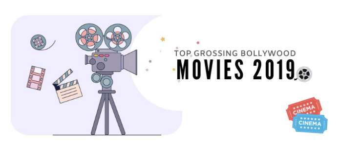 TOP GROSSING MOVIES BOLLYWOOD 2019