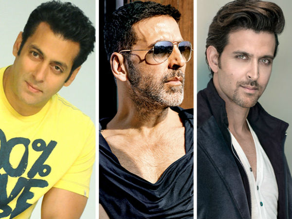 Akshay Kumar, Salman Khan and Hrithik Roshan ruled the overseas box office in 2019
