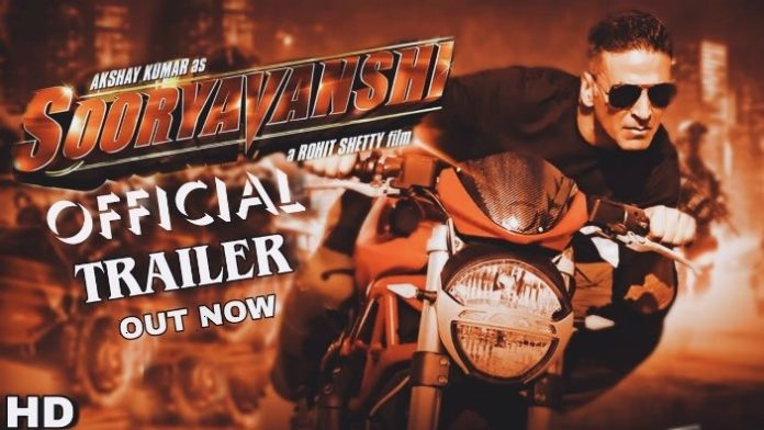Trailer Of Akshay Kumar's Sooryavanshi To Release On This Date