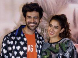 Sara Ali Khan-Kartik Aaryan Love Story In Pics