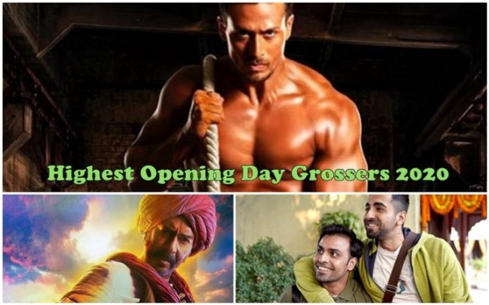Highest Opening Day Collection Bollywood 2020: Tanhaji, Baaghi 3