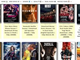 HDMoviesHub 2020: Download Movies, Web Series In 300MB, 480p, 720p