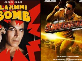 Laxmmi Bomb and Sooryavanshi digital release