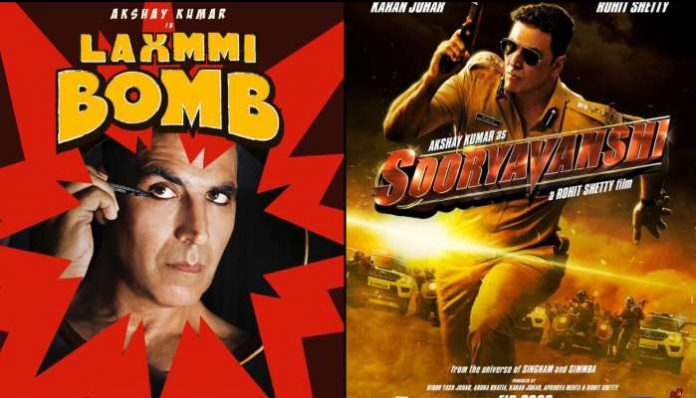 Laxmmi Bomb and Sooryavanshi digital release