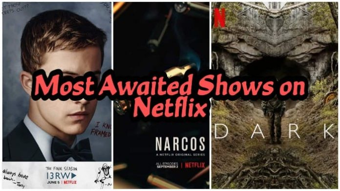 Most Anticipated Netflix Original Shows 2020, 2021