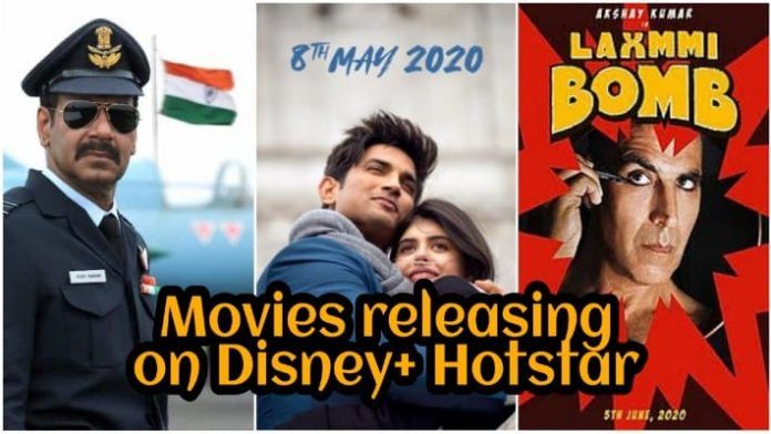 Laxmmi Bomb to Bhuj: 8 Bollywood Movies To Directly Release On Disney+ Hotstar