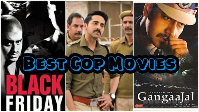 Best Bollywood Cop Movies on Netflix, Amazon Prime, Hotstar and Zee5