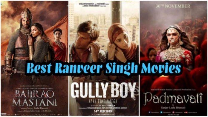 Best Ranveer Singh Movies On Prime, Netflix, Hotstar & Zee5