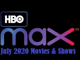 HBO Max July 2020 Releases