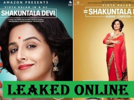 Shakuntala Devi Full Movie Download: Tamilrockers Leaked Vidya Balan's Biopic Drama