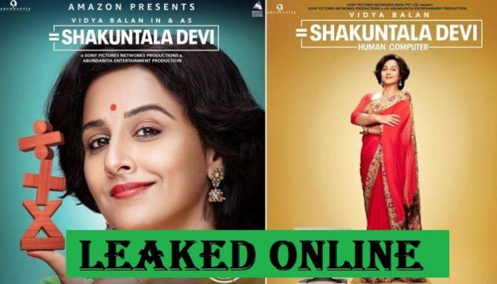 Shakuntala Devi Full Movie Download: Tamilrockers Leaked Vidya Balan's Biopic Drama