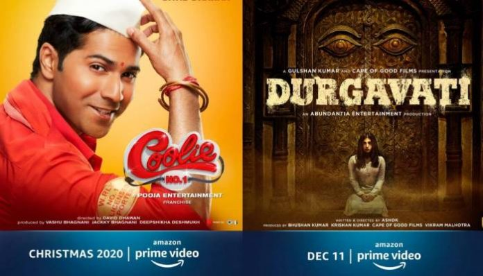 Chhalaang to Coolie No.1: 9 movies to release directly on Amazon Prime Video India