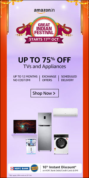Amazon Great Indian sale 2020 electronics