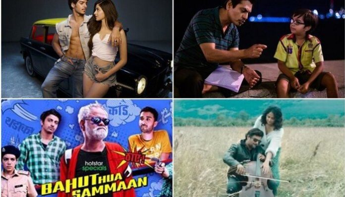Releasing on October 2: Serious Men, Khali Peeli, Nishabdam, Bahut Hua Sammaan & More