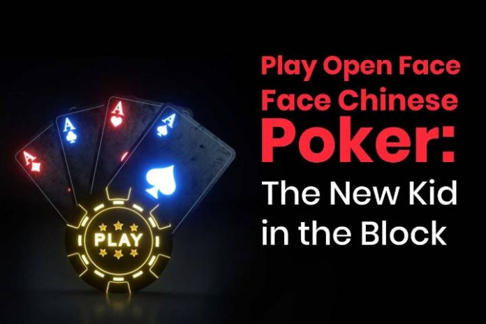 Open Face Chinese Poker