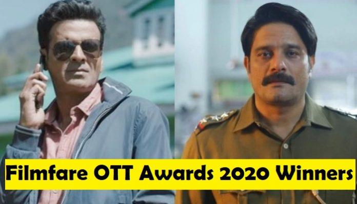 Filmfare OTT Awards 2020 winners: Full winners list