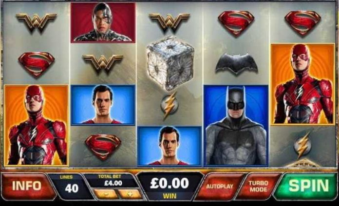 Movie slots - Justice League
