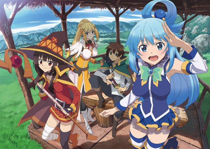 New KonoSuba Anime Project Confirmed: Season 3 or A Movie?